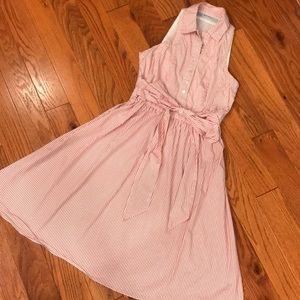 Zara basics striped dress S